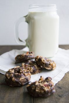 #Healthy #Vegan #Raw #Gluten-Free Sugar-Free #samoa recipe