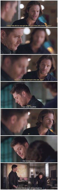 ...it was under his pillow...And Cas managed to steal it while Dean was distracted how exactly?