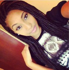 Box Braids • Protective Styles • Singles • Hair • Braids