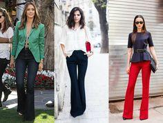 4 modelos de calças pra compor o office look - Blog da Cris Feu