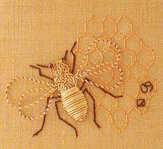Goldwork bee