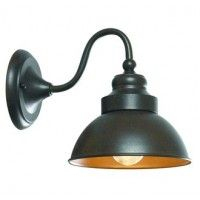"""World Imports WI9121S Transitional 1 Light 9"""" Height Outdoor Wall Sconce from the Magazine Street Collection"""