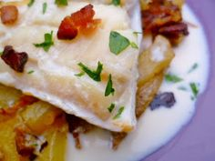 JUNE  Marmaduke Scarlet: perfect whatever the weather: nigel slater's smoked haddock, potato and bacon