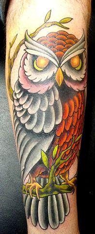 Sandra Burbul- Kaleidoscope Tattoo