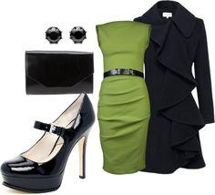 """sleeveless dress"" by corina-santellan-gonzalez on Polyvore"