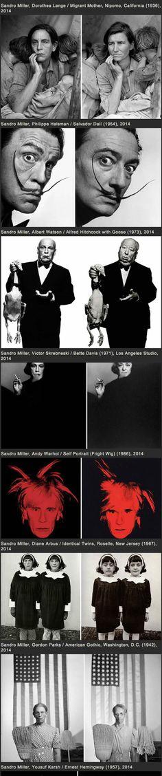 Nipomo ca!! Photographer Recreates Famous Portraits With John Malkovich As His Model