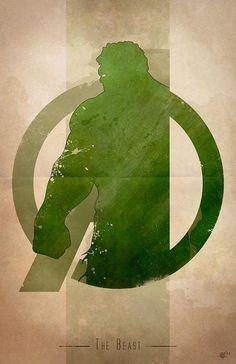Giclee Art Print 'Avengers Assembled: The Beast' Hulk Marvel, Marvel Art, Marvel Heroes, Ms Marvel, Captain Marvel, Hulk Hulk, Hulk Art, The Avengers, Avengers Characters