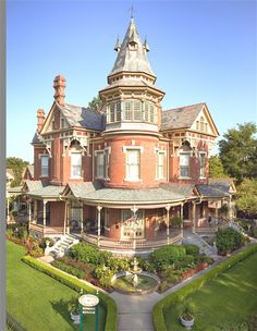 2120 & 2118 Louisiana St, Little Rock, AR -- James H. Hornibrook residence -- 1888 -- Queen Anne Victorian House, Little Rock, AR Victorian Architecture, Beautiful Architecture, Beautiful Buildings, Beautiful Homes, Beautiful Places, Brick Architecture, Wonderful Places, This Old House, My House