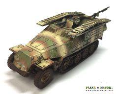D Pionierpanzerwagen, Kampfgruppe Peiper, Ardennes Sd, Model Building
