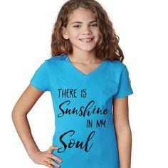 Youth Sunshine V-Neck Tee