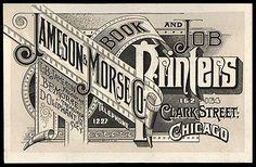 Jameson Morse Book Printers