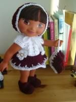 "A Perfect 6! - 15"" doll - image intense - Free Original Patterns - Crochetville"