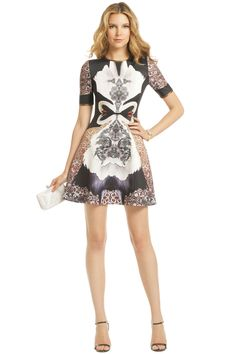 Clover Canyon - Swan Print Dress, i love this dress! Rent Dresses, Dresses For Work, Party Dresses, Style Icons Inspiration, Fashion Inspiration, Cool Outfits, Casual Outfits, Dress Attire, Dress Images
