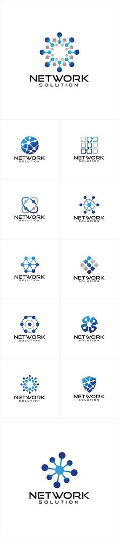 Vectors - Network Logo Design