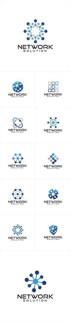 Vectors - Network Logo Design
