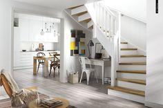 Check Out 50 Elegant Feminine Living Room Design Ideas. Lounge Design, Küchen Design, Design Ideas, Modern Design, Scandinavian Kitchen, Scandinavian Interior Design, Modern Interior, Scandinavian Style, Purple Bedroom Design
