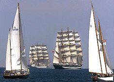 Tall Ships festival, Nova Scotia, Canada Way Cool ! Tall Ships Festival, Atlantic Canada, Prince Edward Island, Pontoon Boat, New Brunswick, Boat Plans, Water Crafts, Newfoundland, Canada Travel