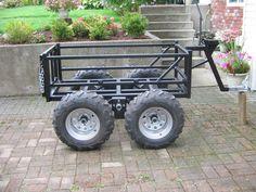 "ATV ""walking beam trailers"" - Yamaha Grizzly ATV Forum"
