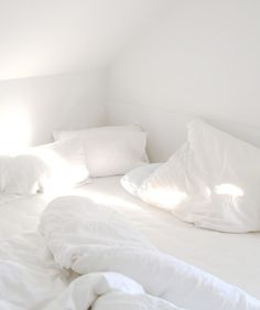 Clean white crispy sheets
