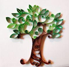 árbol con tiras de hojas de papel                                                                                                                                                     Más