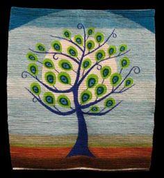 tapiz tapiz 90% lana de ovino,10% algodón tejido