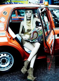 """Aline Weber in """"The Girl Who Rocks The Planet"""" Photographed By Giampaolo Sgura & Styled By Anna Dello Russo For Vogue Japan , April 2012 Only Fashion, High Fashion, Swag Fashion, Really Cool Photos, A New York Minute, Anna Dello Russo, Brazilian Models, Swag Style, The Girl Who"""