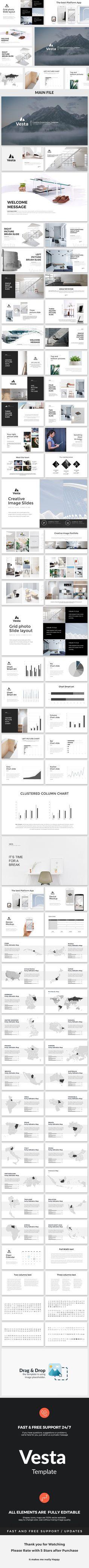 Vesta Creative Powerpoint Template. Download here: https://graphicriver.net/item/vesta-creative-powerpoint-template/17518424?ref=ksioks