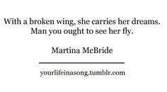 broken wing - martina mcbride