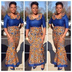 Kente Fabric Designs: See These Kente Styles For Fashionable Ladies - Lab Africa African Inspired Fashion, African Dresses For Women, African Print Dresses, African Print Fashion, Africa Fashion, African Attire, African Wear, African Fashion Dresses, Nigerian Fashion