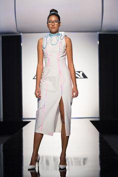 Project Runway Season 15 Ep. 3 Transitions Fashion Show Dresspa By Mah-Jing Wong