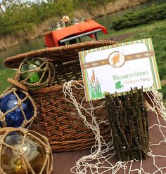 """Rustic """"Little Outdoorsman"""" Birthday Party"""