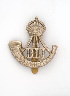Durham Light Infantry, Other Rank's cap badge, & Foot)