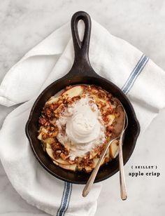 skillet apple crisp - Love and Lemons
