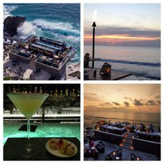 The Rock Bar Bali is the best sunset venue in Bali.