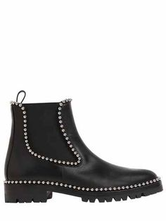 35MM SPENCER CHELSEA BOOTS W/ STUDS