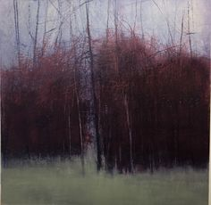 Landscape by George Shipperley  30x30 unframed.    For sale.