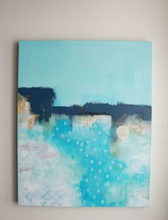 Abstract Seascape Painting on Canvas- Extra Large Wall Art, Ocean Painting for your Nautical Decor, Frames On Wall, Framed Wall Art, Beach Theme Wall Decor, Collages, Extra Large Wall Art, Seascape Paintings, Texture Art, Painting Frames, Abstract Art