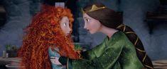 Merida   Valiente: La princesa Merida que no escucha a su madre...