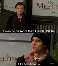 Clueless Blaine...but that's why I love him he's so cute :)