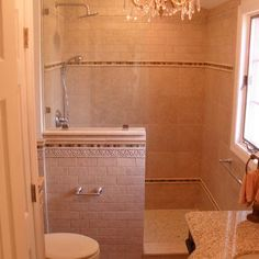 Small Bathroom Remodel retile the gross tile and painted floor ...
