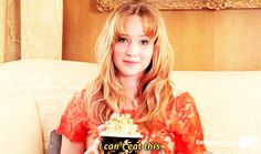 It is disappointing when you win something that is not food.   Things You Can Learn About Eating From Jennifer Lawrence