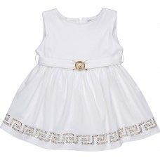 Baby Versace Dress with Bejeweled Trim Rent for $52.80 a week