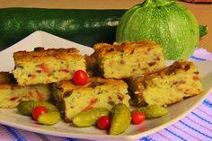 Kynutý cukeťák s uzeným masem No Salt Recipes, Zucchini, Vegetables, Food, Corona, Essen, Vegetable Recipes, Meals, Yemek