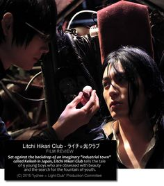 """Set against the backdrop of an imaginary """"industrial town"""" called Keikoh in Japan, Litchi Hikari Club tells the tale of 9 young boys who are obsessed with beauty and the search for the fountain of youth. Their other mission is to take over Keikoh and exact revenge on the adult population for being the source of decay, death, and ugliness."""