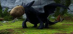 TOOTHLESS IS SO CUTE! XD :D :) ^_^ ^.^ ♡