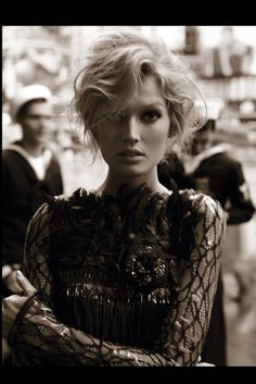 Toni Garrn in 'Glory Days', Vogue Germany, August 2012, photographed by Alexi Lubomirski