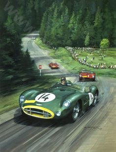 nurburgring brooks 1957