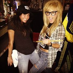 Wayne and Garth Costume for Halloween  sc 1 st  Pinterest & 26 Couples Costumes That Wonu0027t Make You Barf | Pinterest | Walmart ...