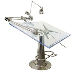 drafting tables | Thread: OT: where to buy large binder clamps, need for drafting table. ~ Don't I wish... so sweet!