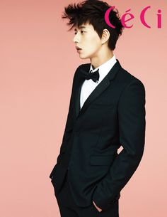 Park Hae Jin - Ceci Magazine January Issue '14